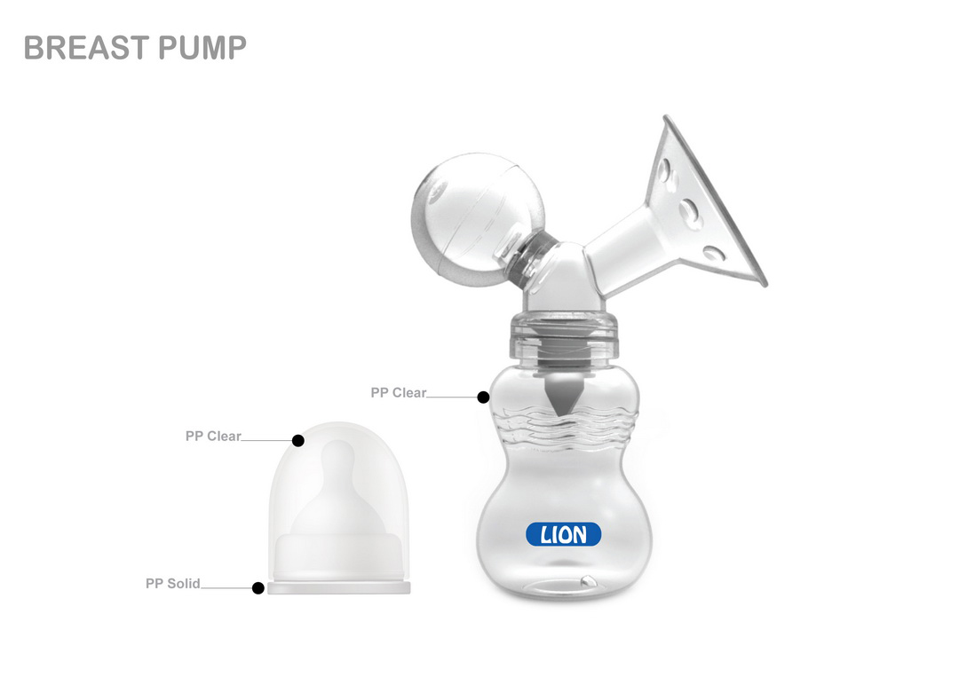 LION BREAST PUMP SET