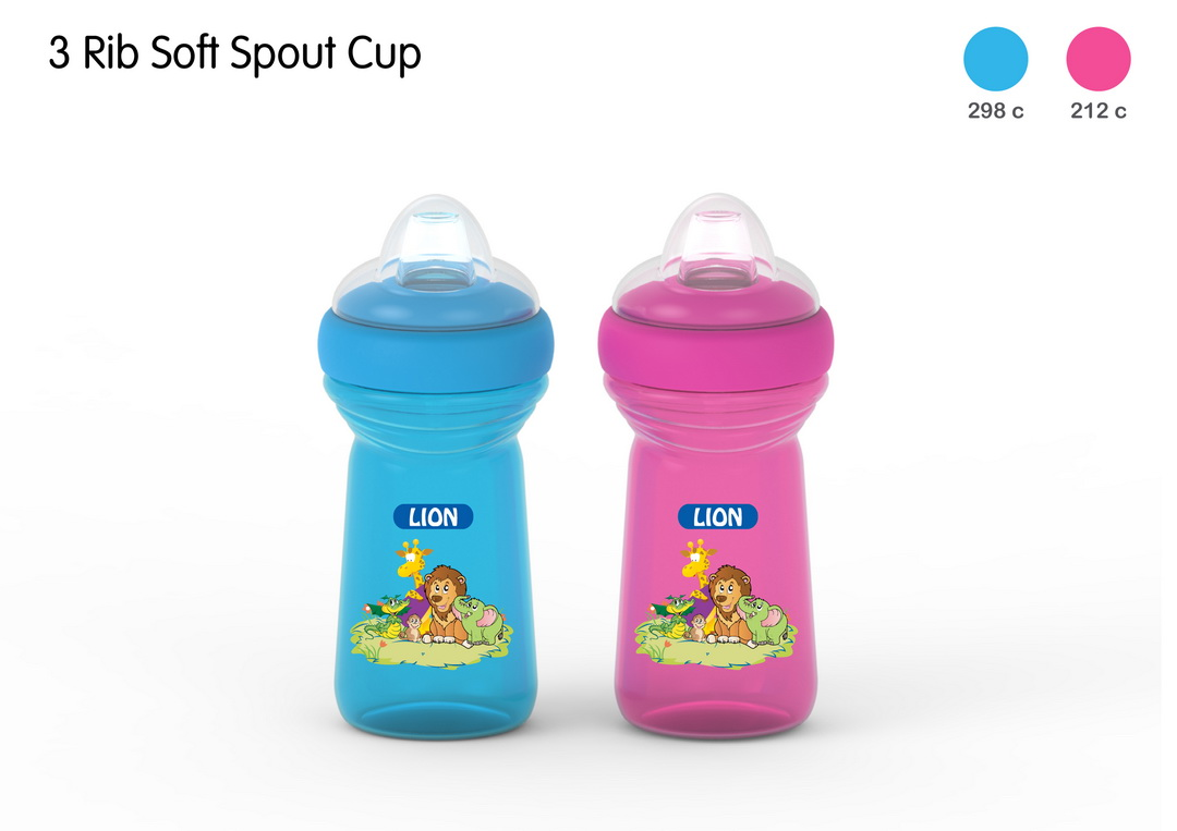 LION SOFT SPOUT DRINKING CUP 1 PC HEADER CARD