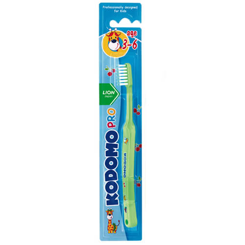 Kodomo Baby Tooth Brush (3-6 Years)