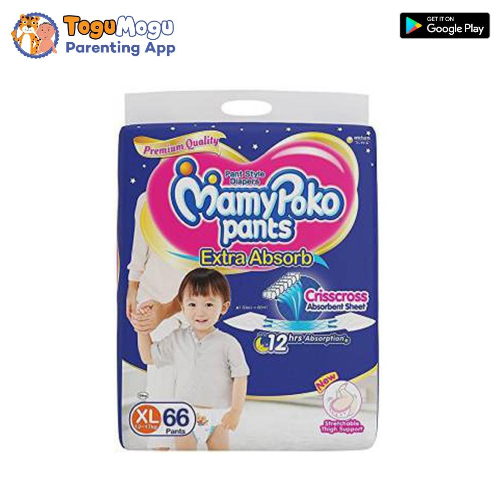 MamyPoko Pants XL-66 Pcs(12-17kg)