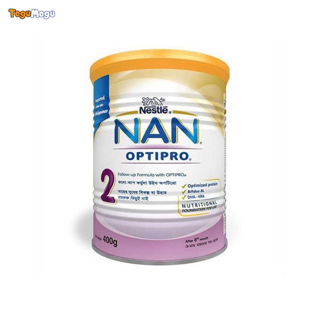 NAN OPTIPRO 2 LEB032 Tin 400 gm