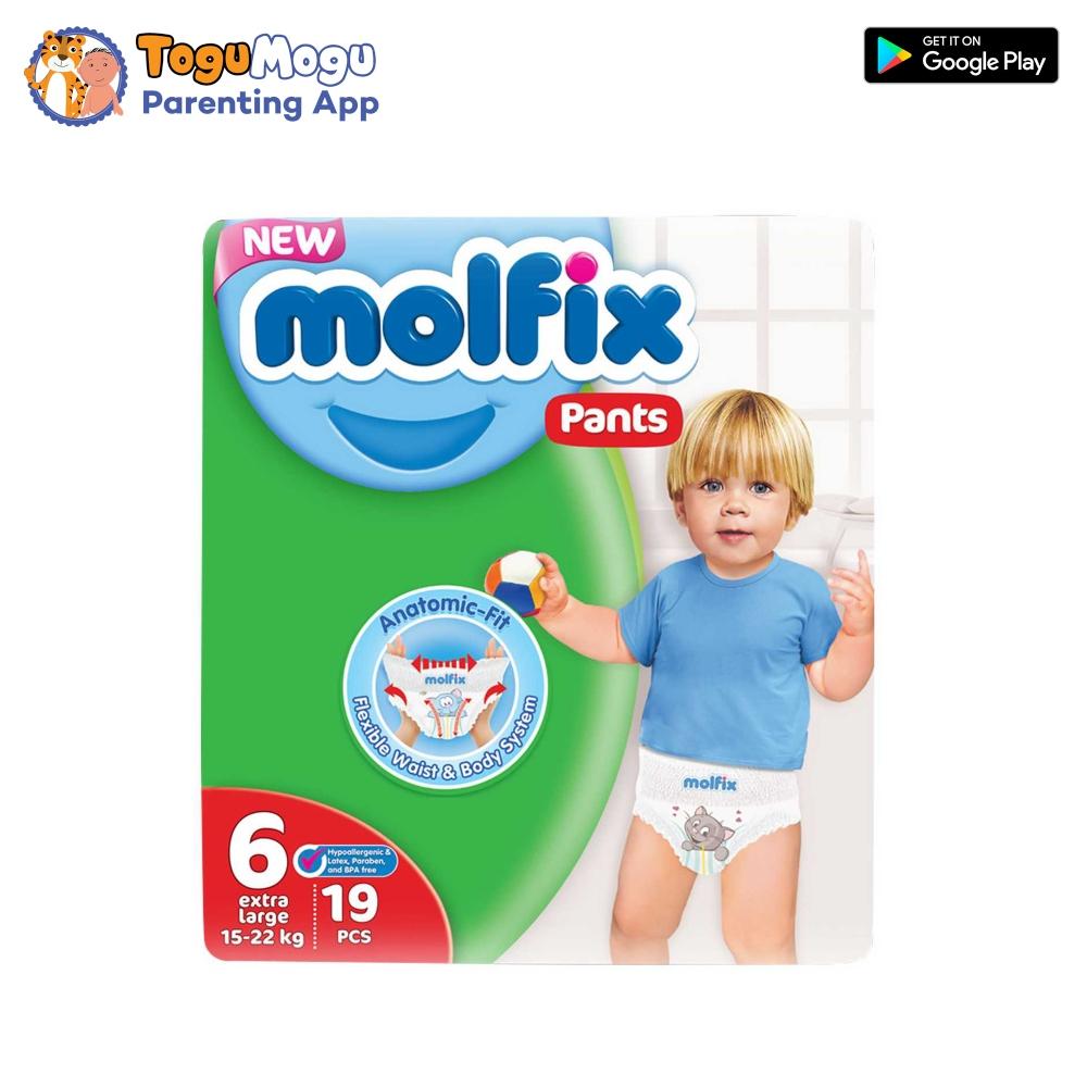 MOLFIX Pants Diaper TWIN XX Large 15-22kg 19 pcs