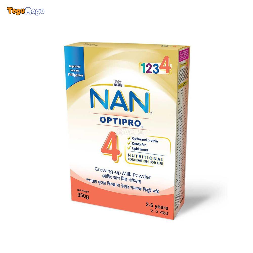 NAN OPTIPRO 4LNFBOO3BIB 350 gm