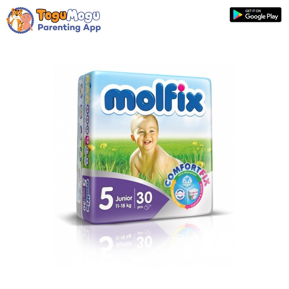 MOLFIX Belt Diaper TWIN Junior 11-18kg 30 pcs