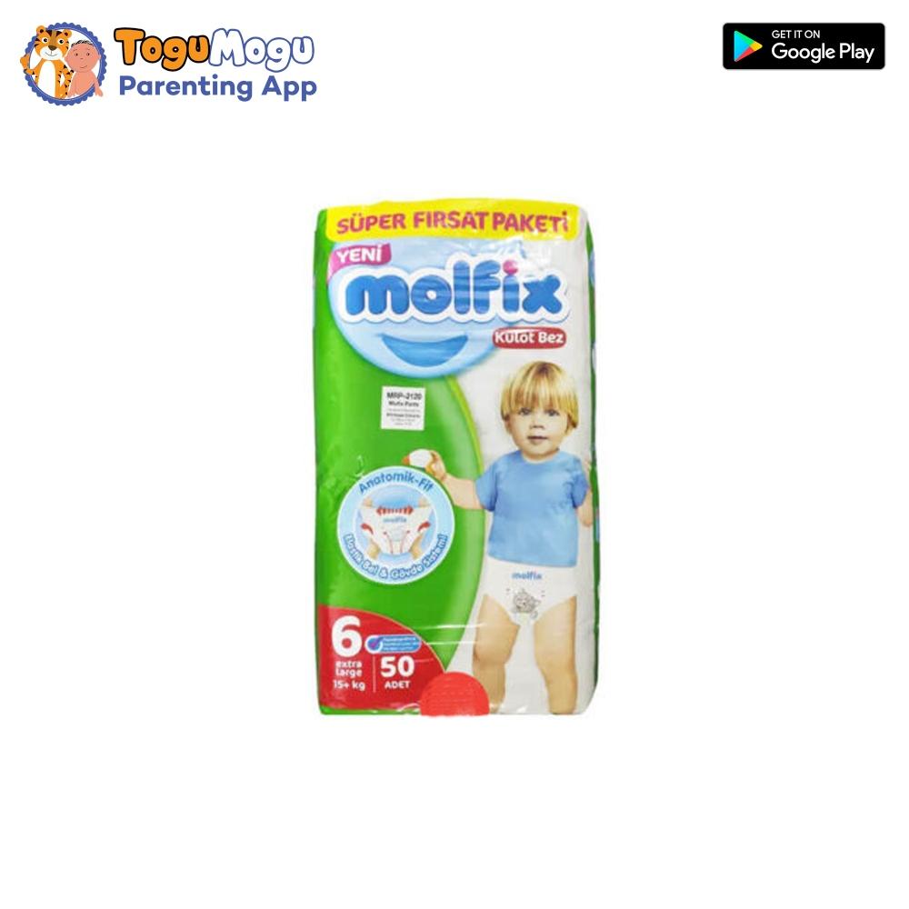 MOLFIX Pants Diaper SUPER ADVANCE Extra Large 15+kg 50 pcs