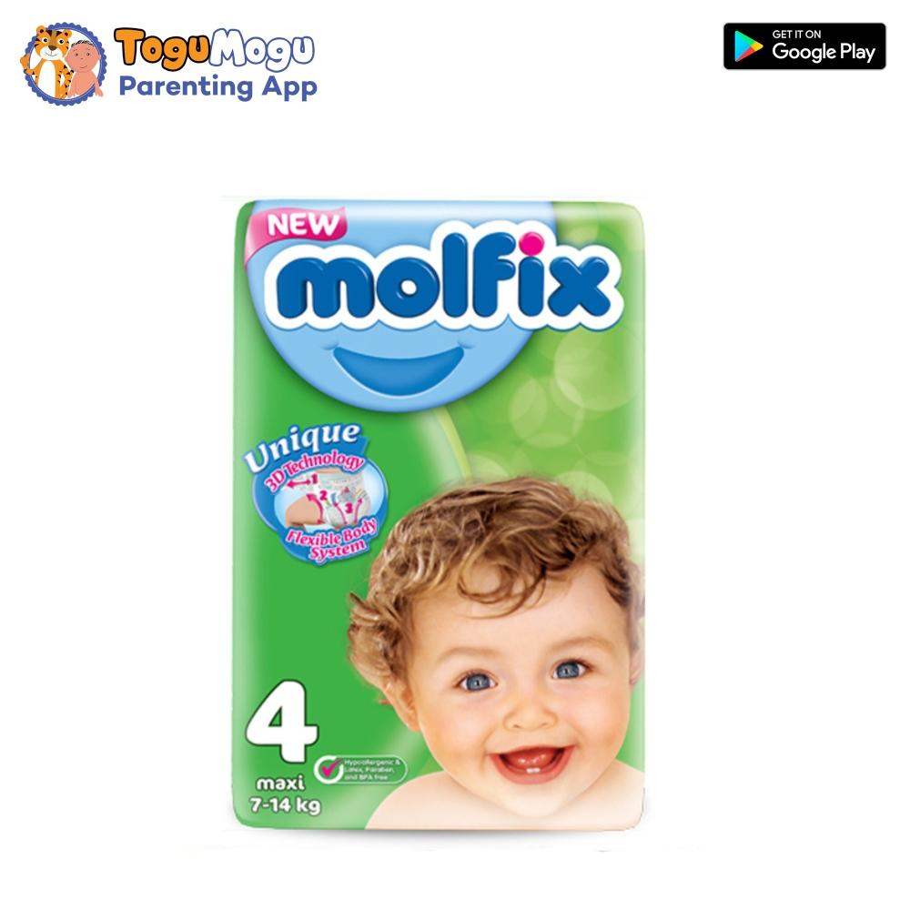 MOLFIX Belt Diaper GIANT Maxi 7-14kg 80 pcs