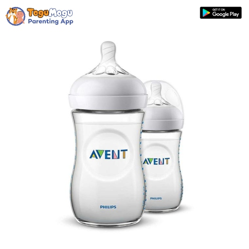 Avent Natural Feeding Bottle 260ml/9oz (SCF693/10)