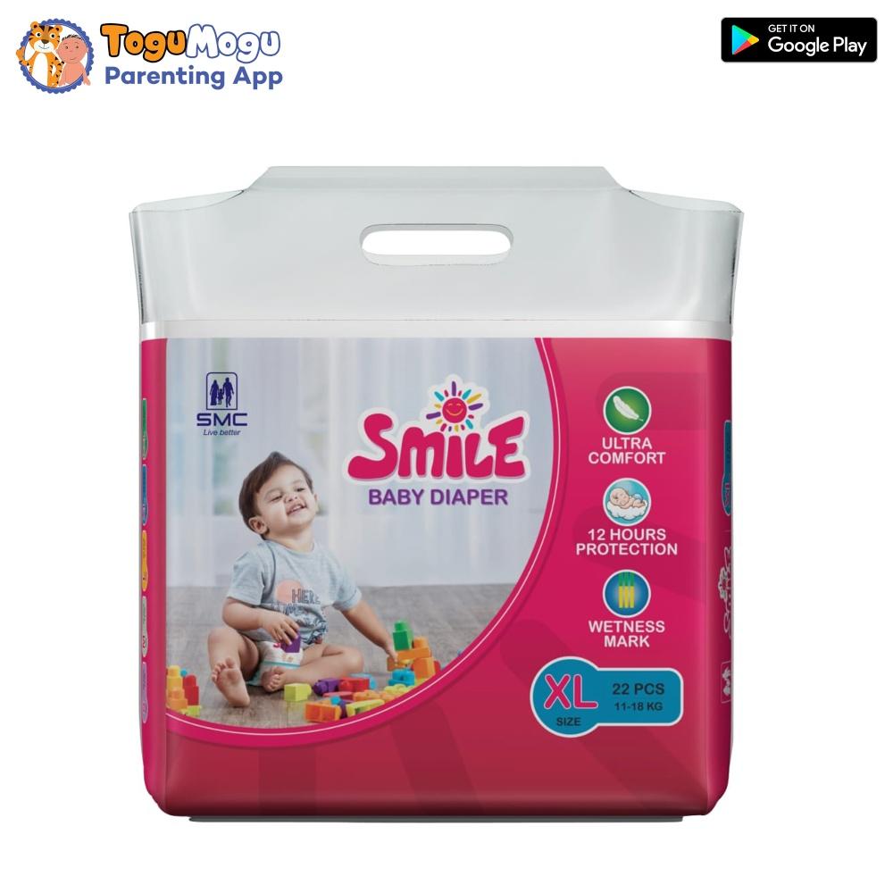 SMC Smile Baby Diaper Belt 11-18 kg XL 22 Pcs