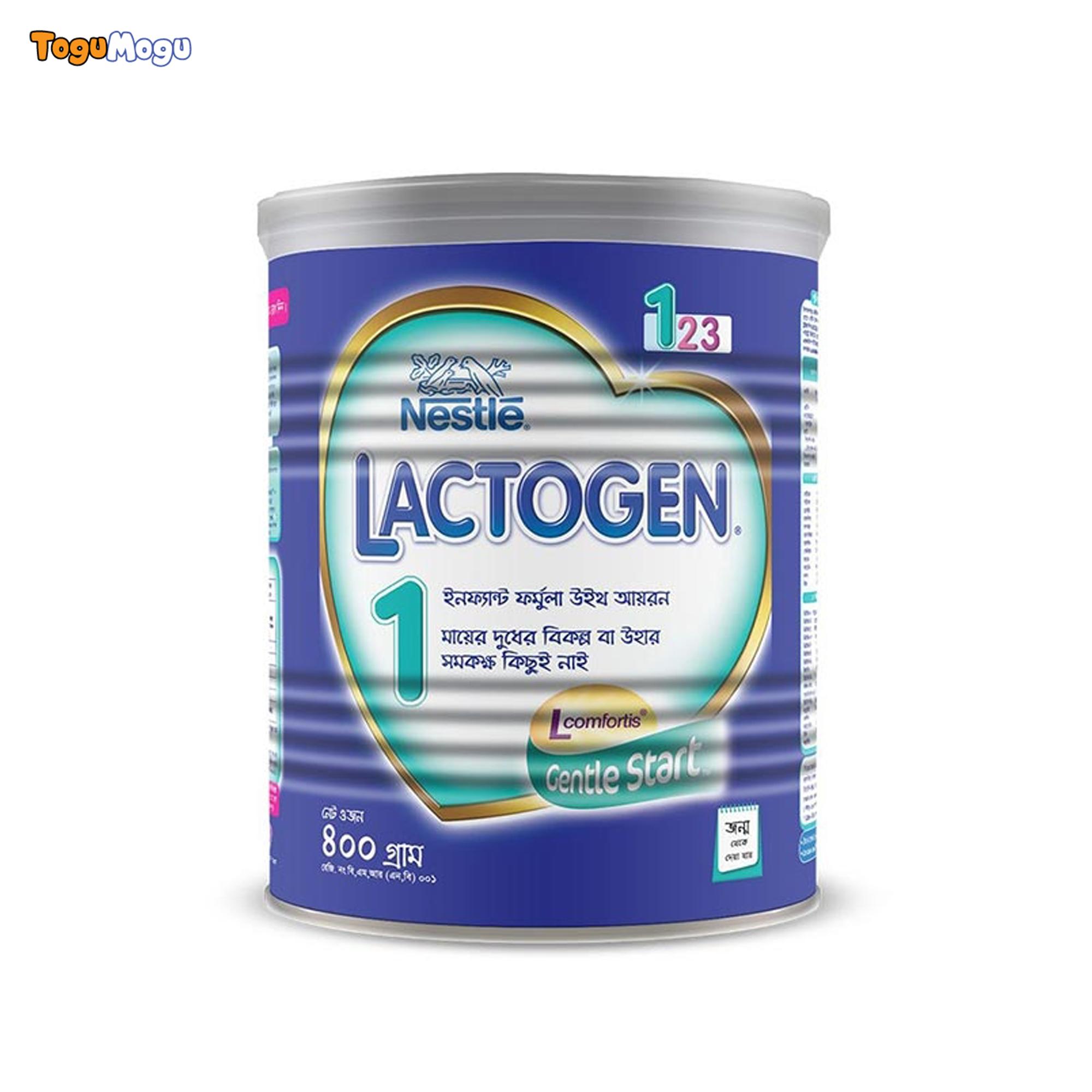 Nestle Lactogen 1 Infant Formula With Iron 400gm Tin