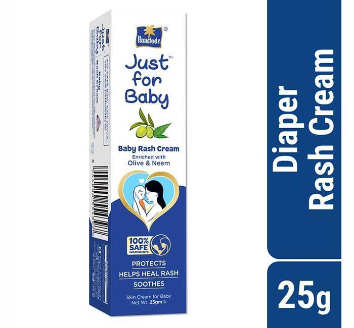 Parachute Just for Baby Rash Cream 25g