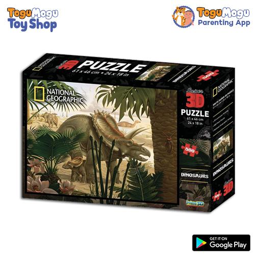 National Geographic 10088 Stenonychosaurus 3D Puzzle