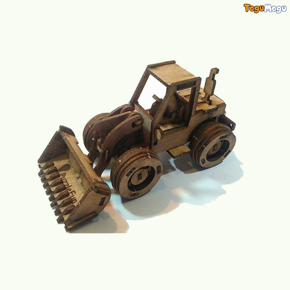 Puzzle Fun Bulldozer 3D Puzzle