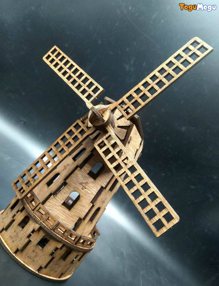 Puzzle Fun Dutch Windmill 3D Puzzle