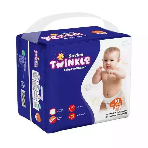 Savlon Twinkle Baby Pant Diaper XL 12-20 kg