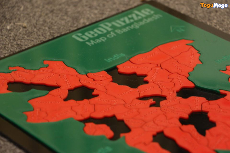 Puzzle Fun Geo Puzzle(BD District) Acrylic Color Scheme 1