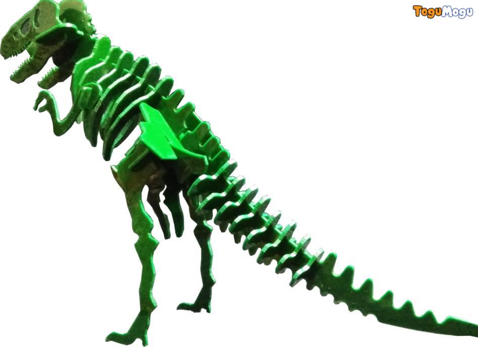 Puzzle Fun T-rex 3D puzzle