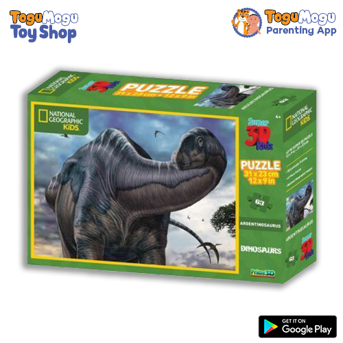 National Geographic 10566 Argentinosaurus 3D Puzzle