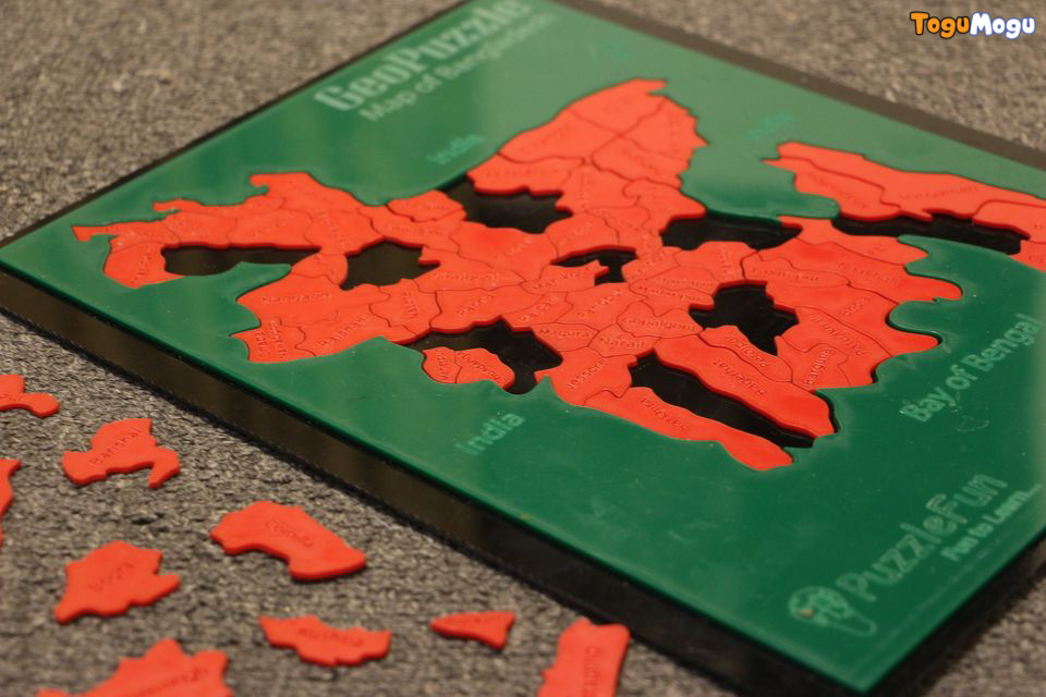 Puzzle Fun Geo Puzzle(BD District) Acrylic Color Scheme 1