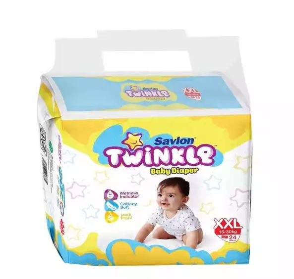Savlon Twinkle Baby Diaper Belt XXL 15-30 kg