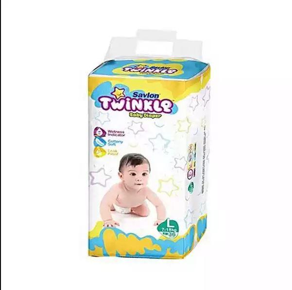 Savlon Twinkle Baby Belt Diaper L 7-18 kg