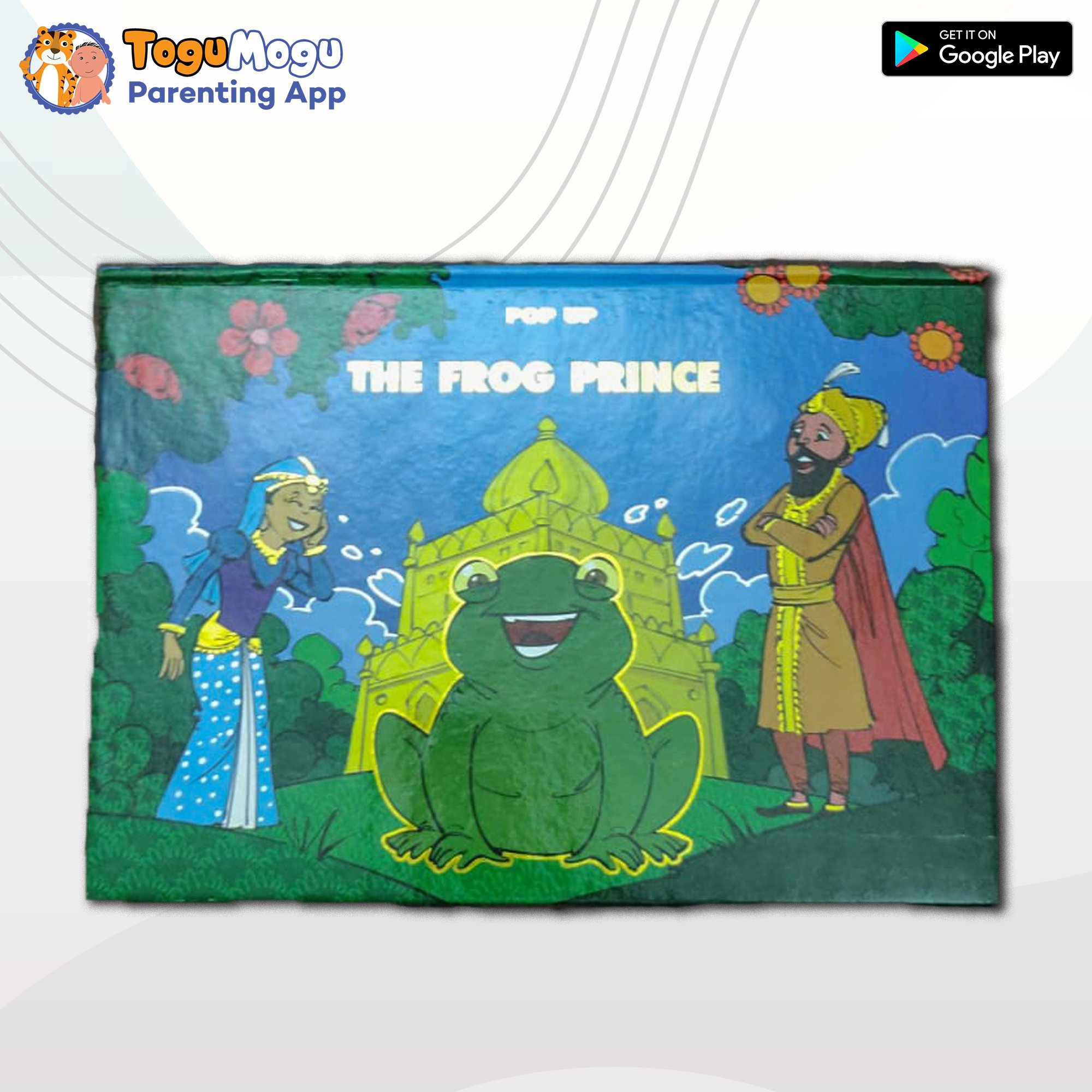 The Frog prince ( Pop Up Book )-English Version