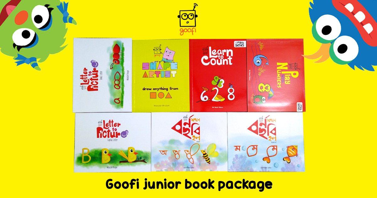 Goofi Junior Book Package