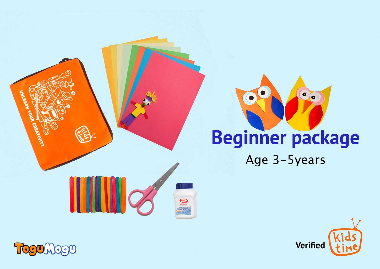 Beginner Crafting Package (3-5yrs)
